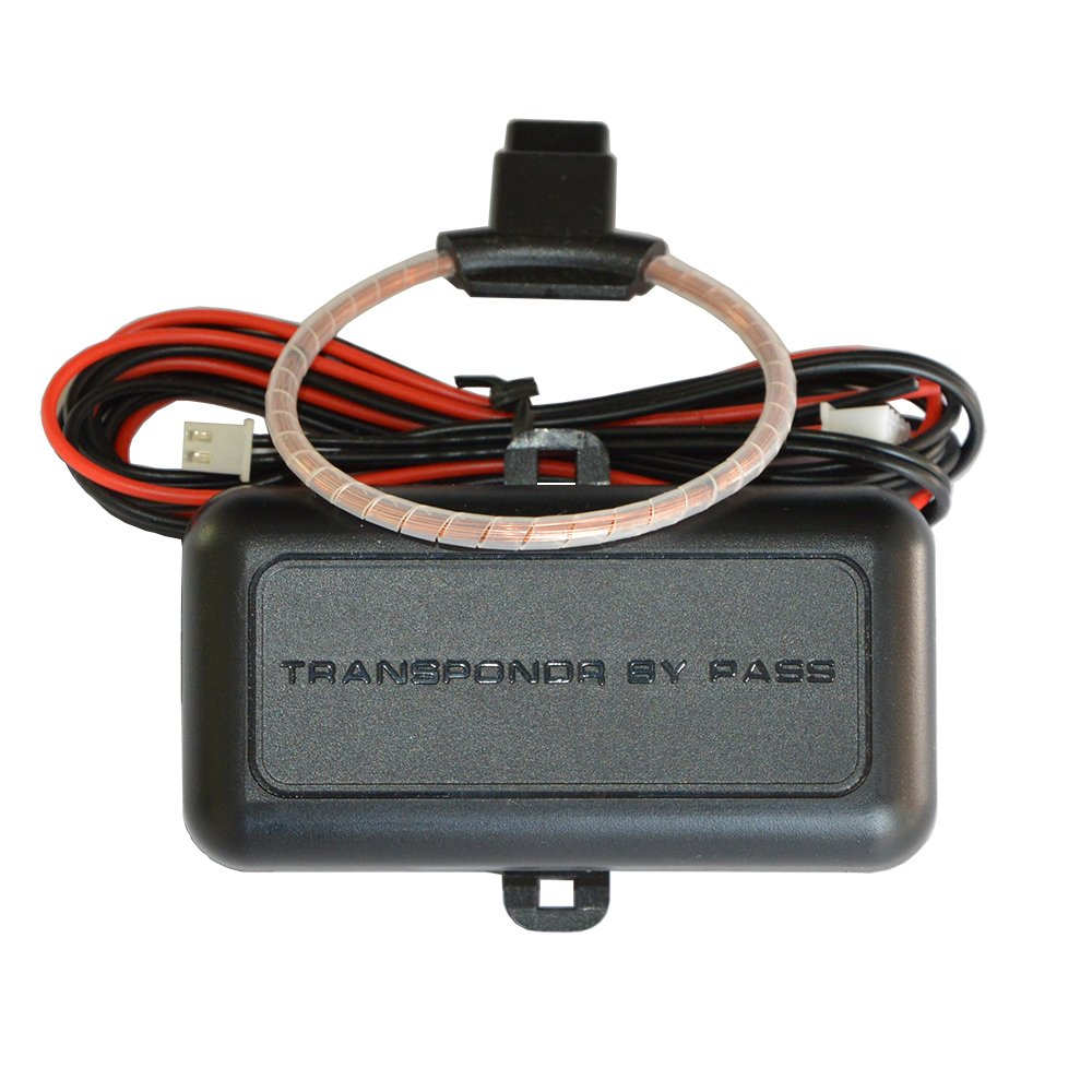 BANVIE Universal Immobilizer Transponder Bypass Module to Release Chip Key Engine Lock for Remote Starter & Car Alarm & Push Start Button