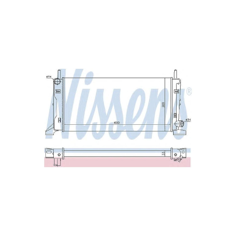 Nissens 621541 Refrigerantes del Motor