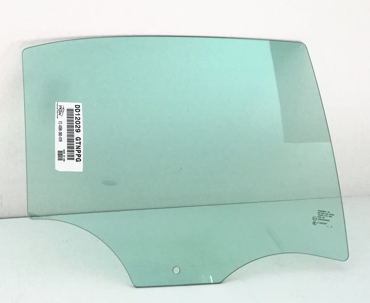 Door Glass For 2008-2012 Chevrolet Malibu Rear Right 4-Door Sedan