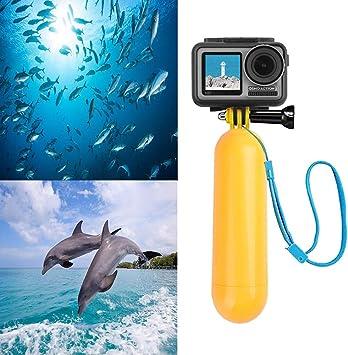 LOOSNHEK Float Hand Grip Buoyancy Rod Pole Stick Monopod Tripod for Sport Camera