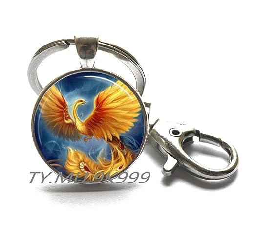 Llavero Phoenix, llavero Phoenix, joyería de Féonix, Phoenix ...