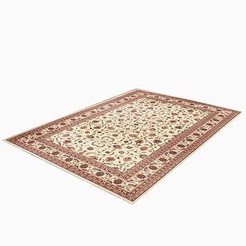 Wohnzimmer Schlafzimmer Teppich Tür Matratze Couchtisch Teppich Braun Weiß  Acryl Material Pflanze Blumenmuster Rechteck 200 *