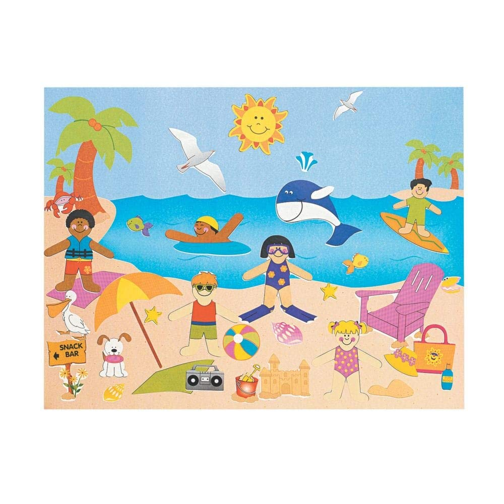 A Day At The Beach Sticker Scenes FE SG/_B003YGU22S/_US Dozen Design Your Own