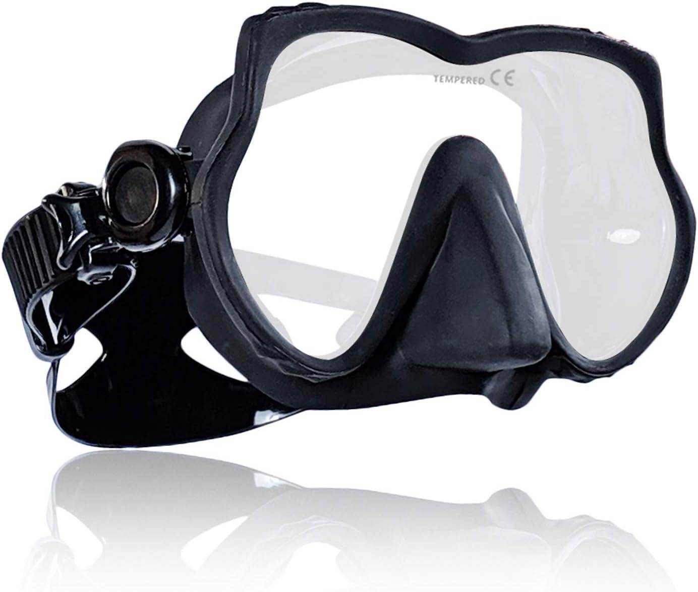 Tilos Excel, Scuba Diving Snorkeling Free Diving Frameless Mask