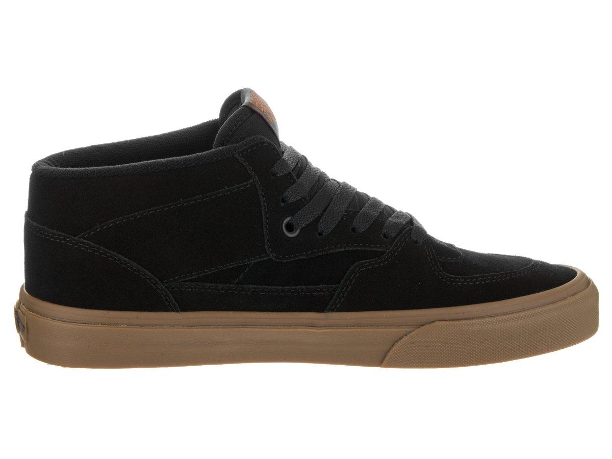 b7344c526 Zapatillas de skate Vans Unisex Half Cab (14 oz Canvas) Negro Negro