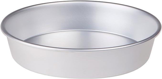Imagen dePentole Agnelli FAMA43/620 Molde para pasteles cónico con borde, Aluminio, 20 X 20 X 6 cm