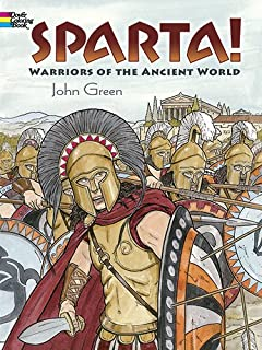 Warriors Of The Ancient World Dover History Coloring Book