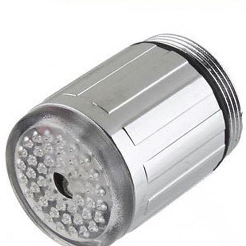 LED Light Luz Grifo Faucet De Agua 7 Color Cambiable Brillo Corriente Ducha Tap Generico BHBA954