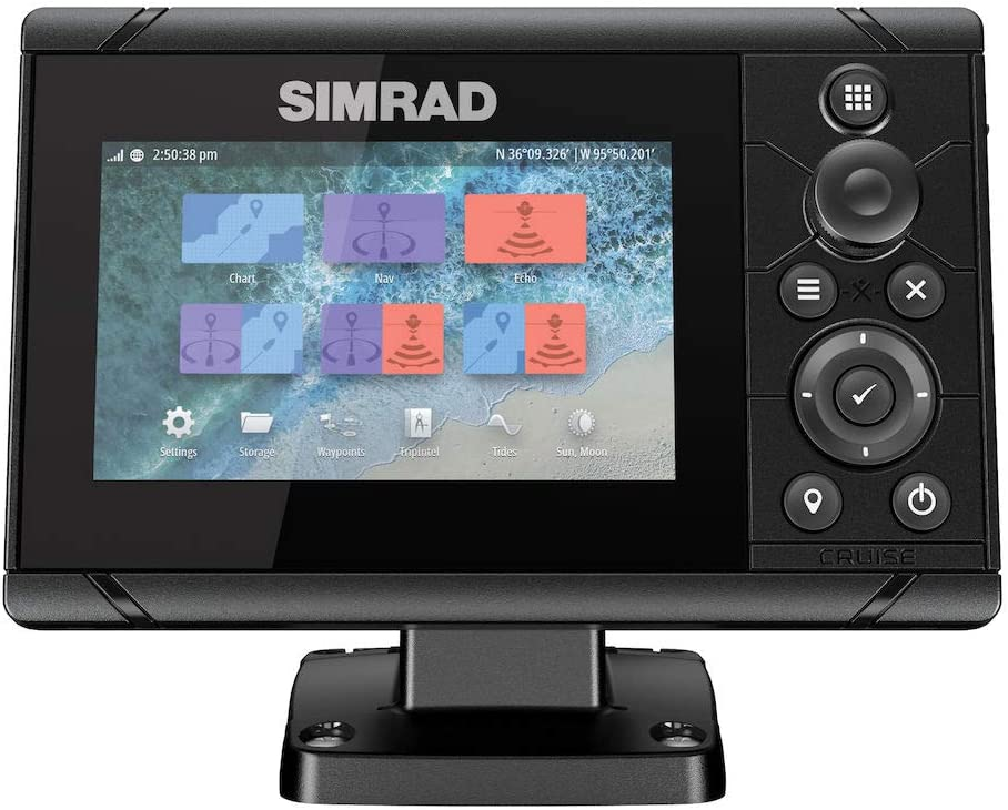 Simrad Cruise 5 - Rueda con Diagrama básico, Cruz 5.: Amazon.es ...
