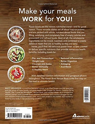 amazon the power bowl recipe book 140 nutrient rich dishes for