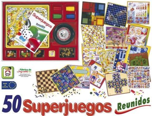 Caja 50 SUPERJUEGOS Reunidos: Amazon.es: Juguetes y juegos