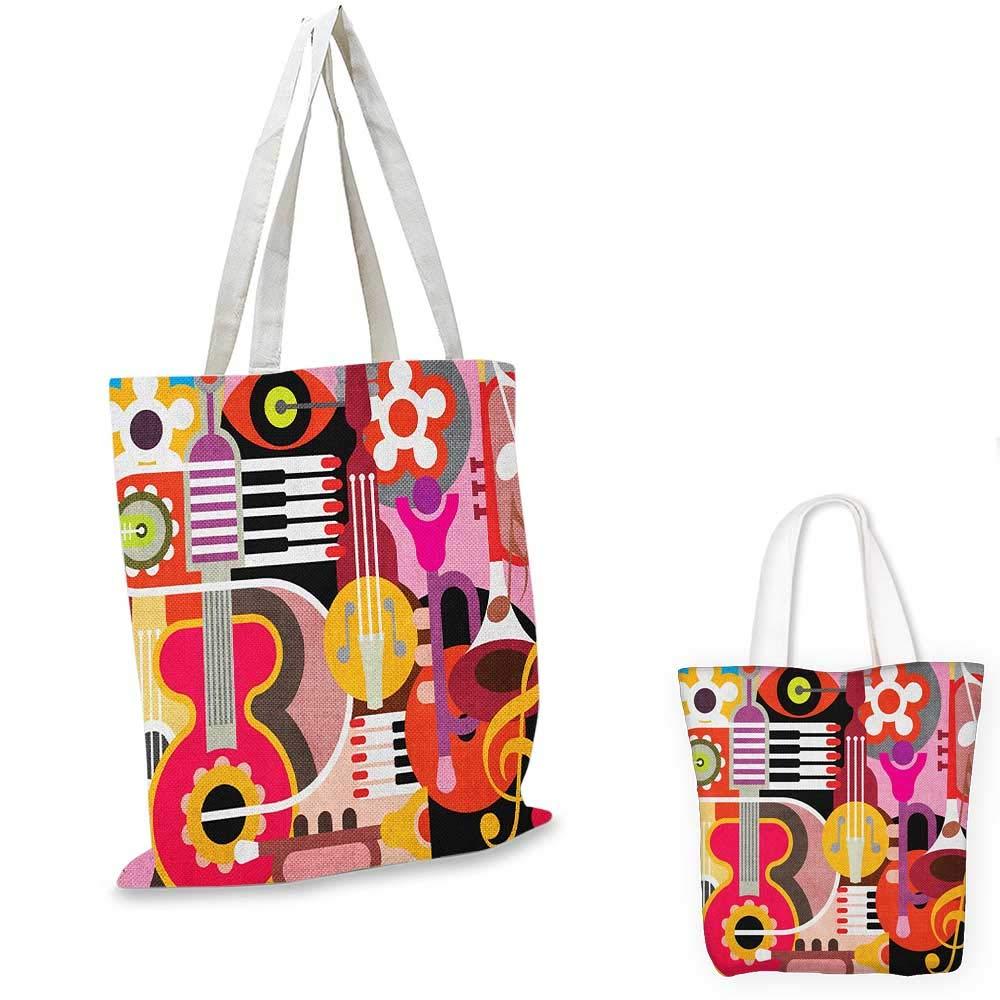 正規品 MusicColorful Jazz Sign レトロボーホー アート カラー05 マルチカラーで様々なパフォーマンスシルエットイラスト アート 16