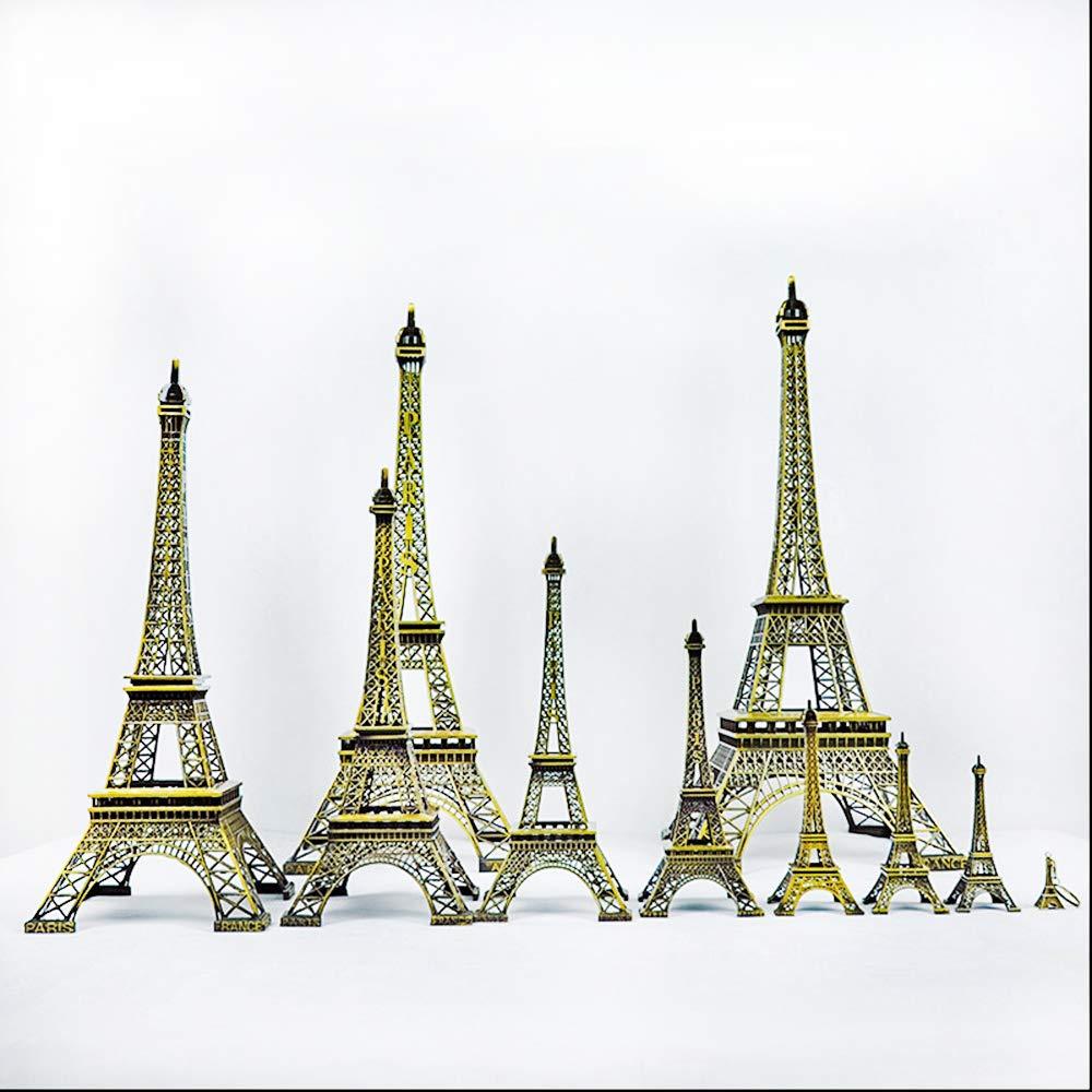 B/üro Dekoration Handwerk Vektenxi Mini 18 cm Paris Eiffelturm Statue Modell geeignet f/ür Zuhause