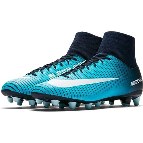 Suela Ag Azul Nike Con Vi Calcetin Fútbol Mercurialx Botas Victory N8mn0w