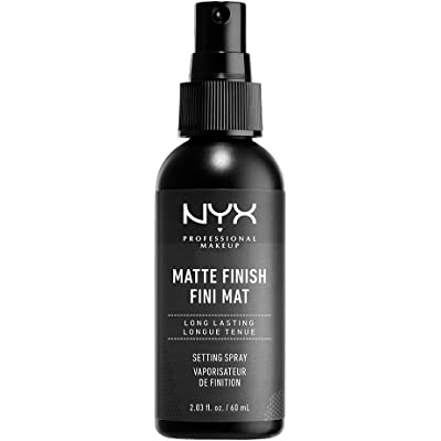 NYX Professional Makeup Spray fijador Makeup Setting Spray, Larga duración, Ligero, Fórmula vegana, Acabado Matte, 60 ml