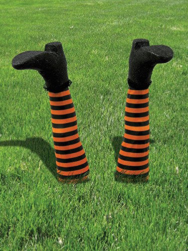 Witch Legs Lawn Decoration