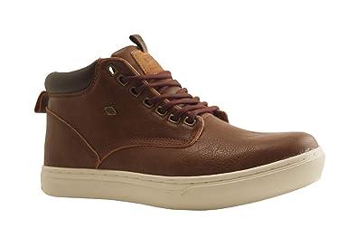 British Knights Herren Wood Hohe Sneakers, Cognac Marron Foncé, 44 ... 31d90c05aa