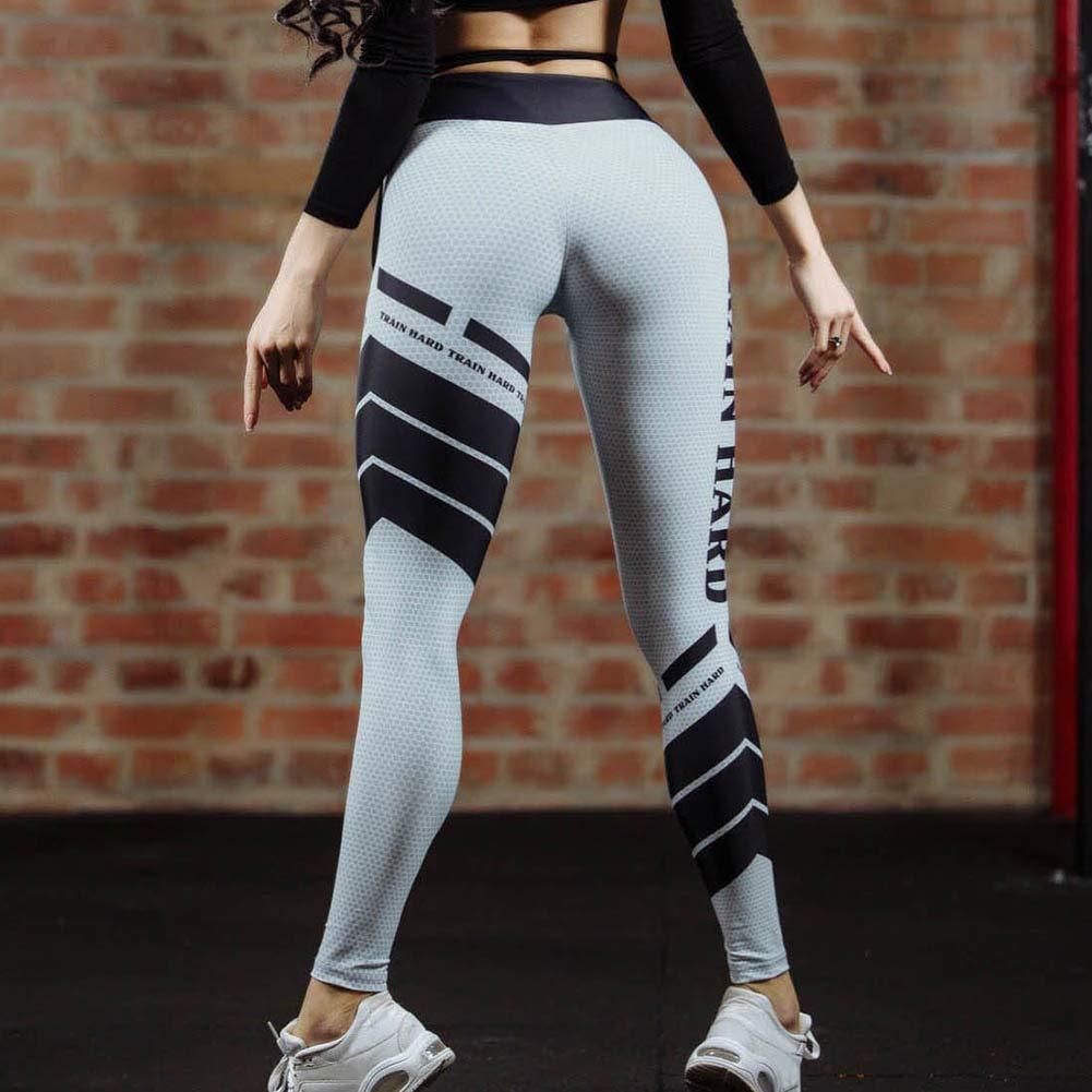 YUEYUJIA Culturismo Mujeres Pantalones De Yoga Sexy ...