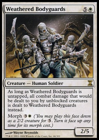Magic: the Gathering - Weathered Bodyguards - Time Spiral