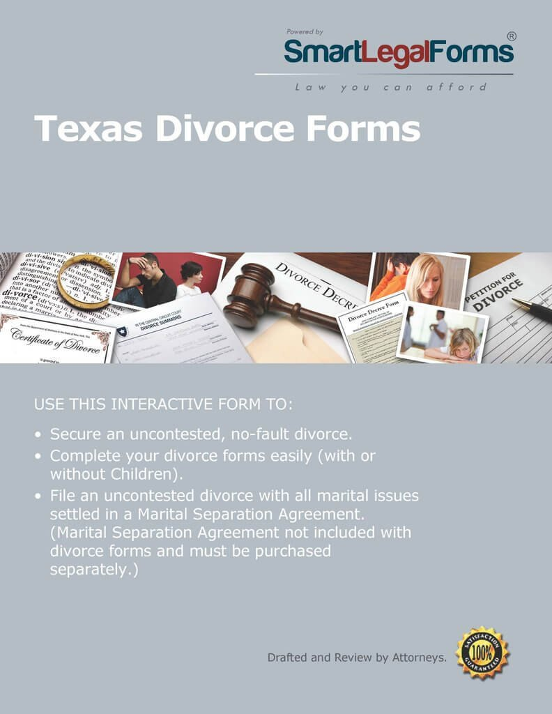 Texas Divorce [Instant Access] by SmartLegalForms, Inc.