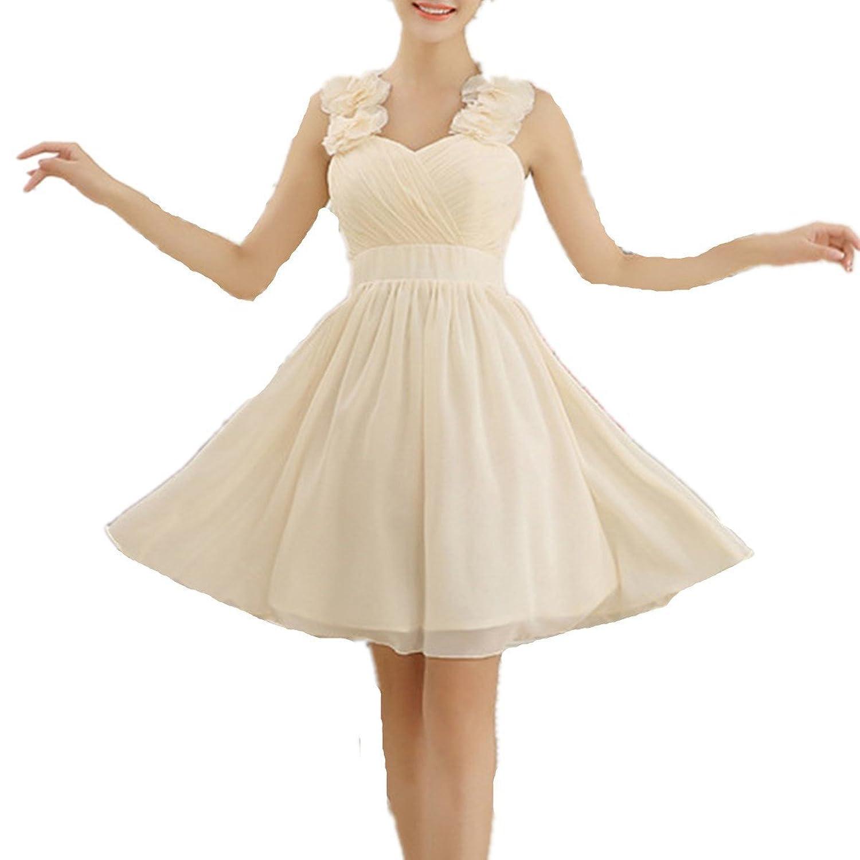 LOBTY Brautjungfer Kleider Prom kleid lang Damen A-Linie ...