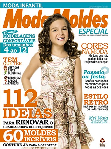 Moda Moldes Especial 17 (Portuguese Edition) by [Editora, On Line ]