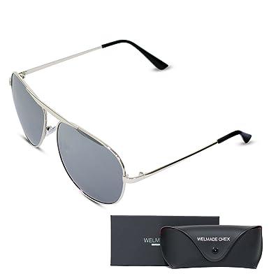 b47046fb15 Amazon.com  Premium Classic Metal Frame Driving Aviator Sunglasses ...