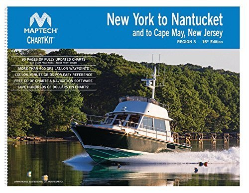 New York to Nantucket and to Cape May, New Jersey - ChartKit Region 3, 16th Ed.