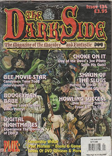 The DarkSide [Dark Side]: The Magazine of the Macabre and Fantastic, no. 134 (U.K., 2008):