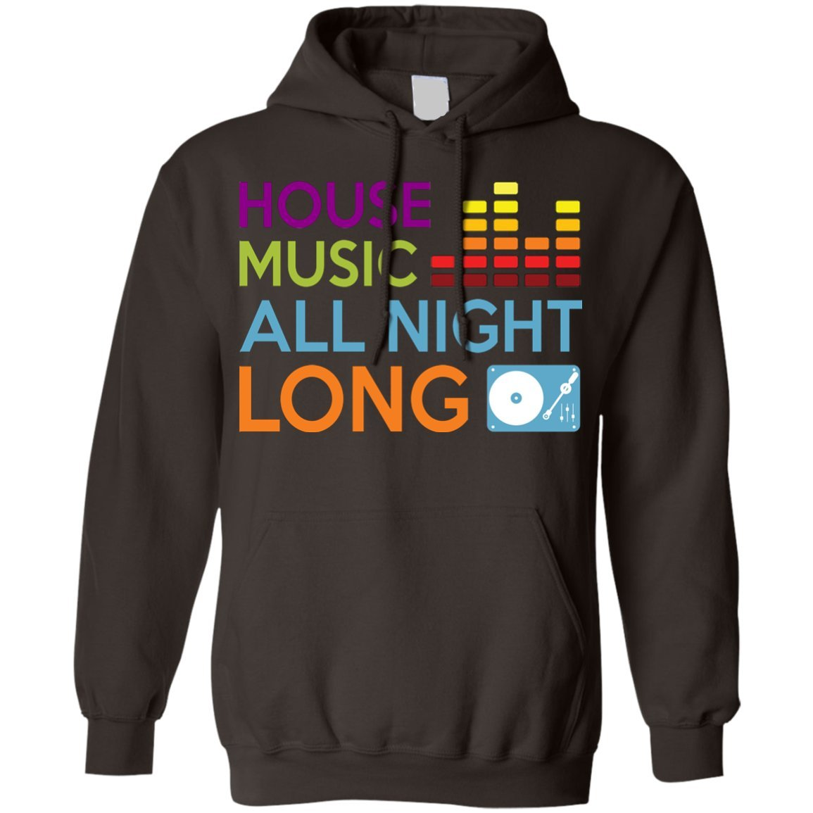eden tee House Music All Night Long EDM DJ Hoodie