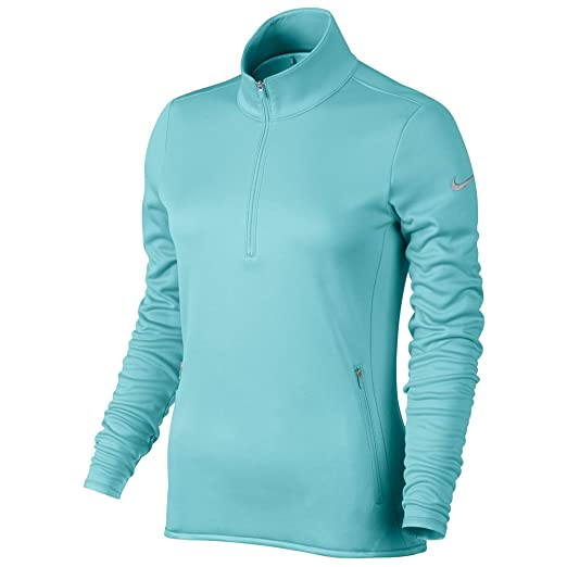 274e93f7d152 Amazon.com  Nike Thermal 1 2 Zip Golf Pullover 2015 Womens Copa Wolf ...