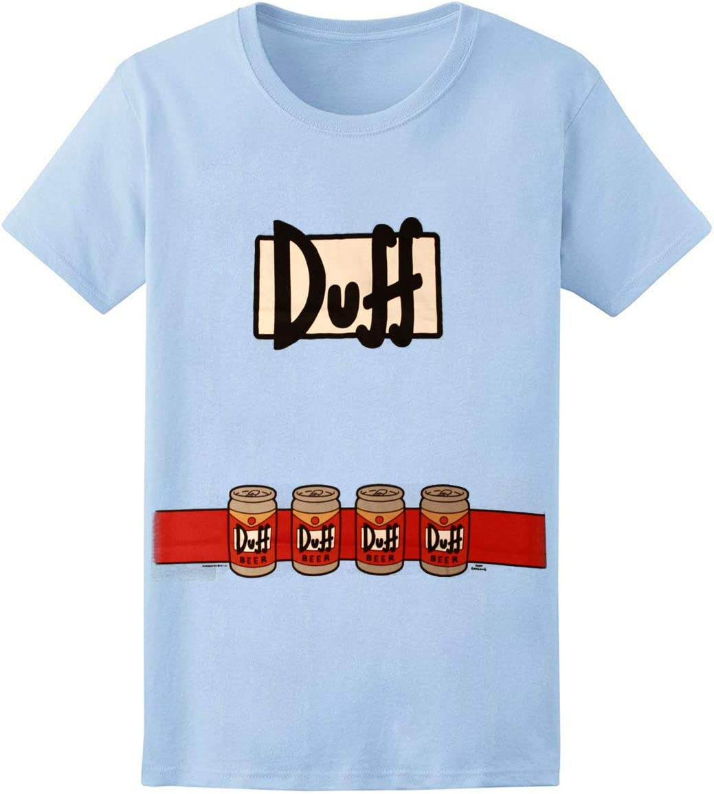 The Simpsons Duffman - Camiseta de Manga Corta para Adulto, diseño ...