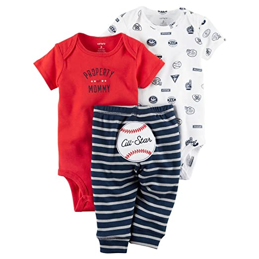 87197c9f48d4 Amazon.com  Carters Baby Boys 3 Piece Take Me Away Set (24 Months ...