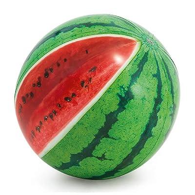 "Intex Jumbo 42"" Watermelon Beach Ball, Multicolored, ONE SIZE: Clothing"