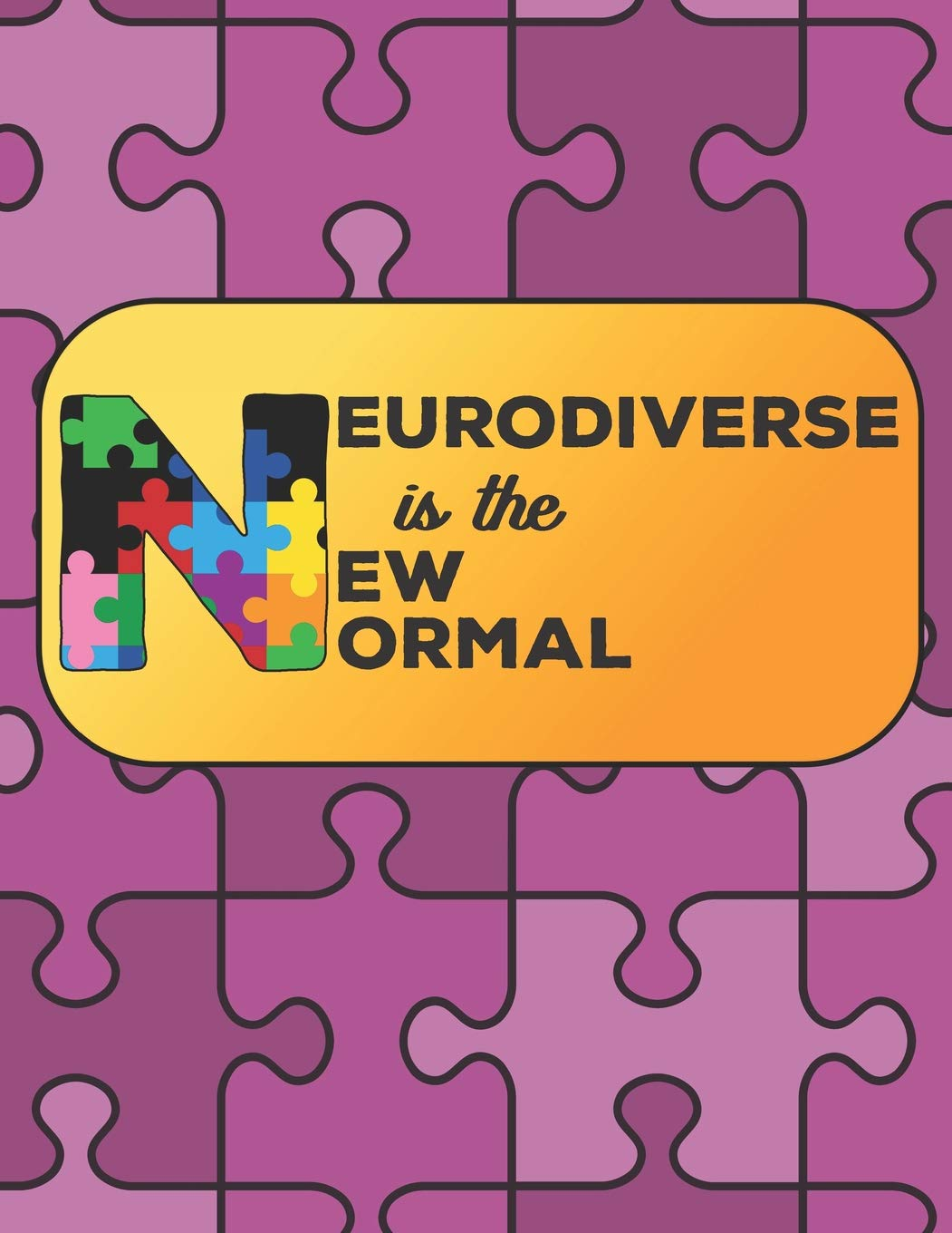 Buy Neurodiverse Is The New Normal Autism Awareness Doodle