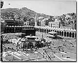 Kaaba Muslim Shrine Mecca, Arabia 1910 8x10 Silver Halide Photo Print