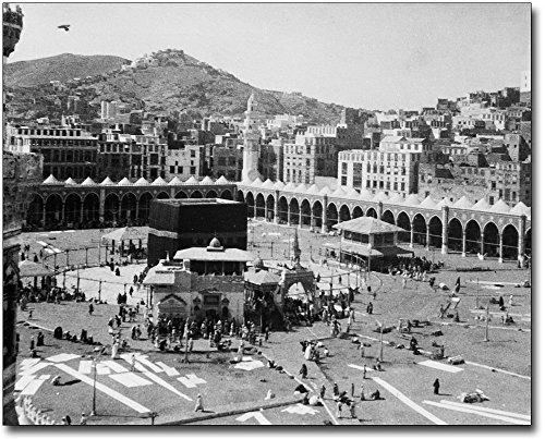 Kaaba Muslim Shrine Mecca, Arabia 1910 11x14 Silver Halide Photo Print by The McMahan Photo Art Gallery & Archive