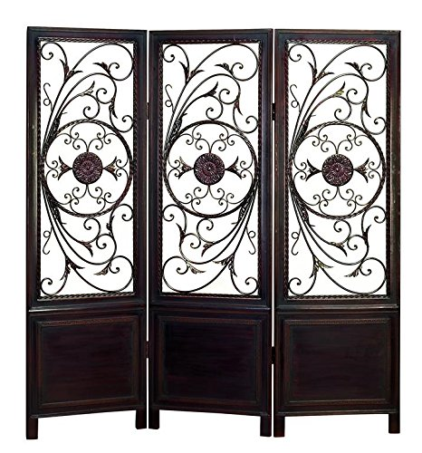 - Deco 79 86285 Wood Metal 3-Panel Screen Ultimate in Its Category