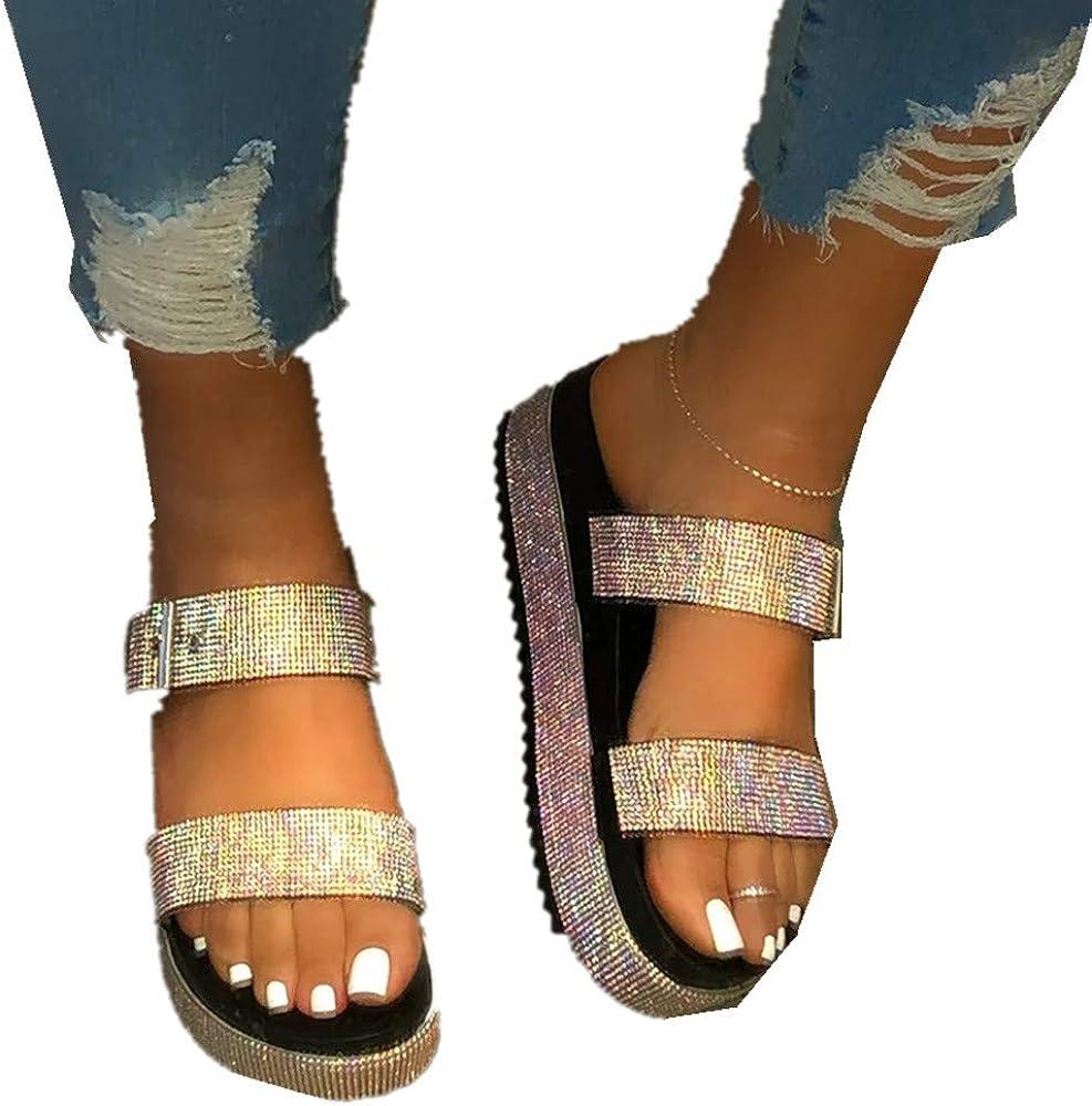HIRIRI Womens Double Strap Slip on