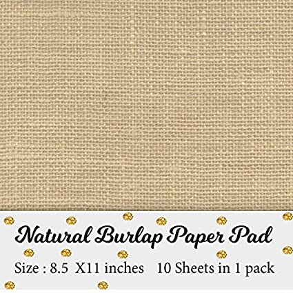 image relating to Printable Playing Card Stock identify Printable Organic Burlap Paper Pad Burlap sbooking components  Laminated Burlap Paper for Burlap Prints Burlap card inventory - Measurement 8.5 inches x
