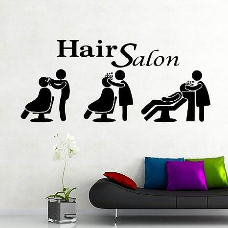 GJQFJBS DIY salón de belleza pintura mural removible ...