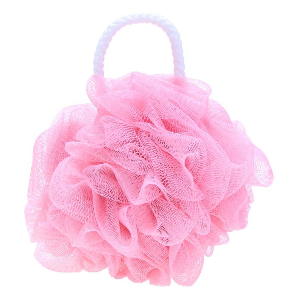 Matefield Bad Ball Bad Schwamm Body Dusche Reinigung Bath Blume Blasen Schäumendes Mesh rose
