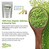 MatchaDNA USDA Organic Matcha Green Tea Powder 50 Lbs (800 Oz) – CERTIFIED ORGANIC – Bulk – Culinary Grade Review