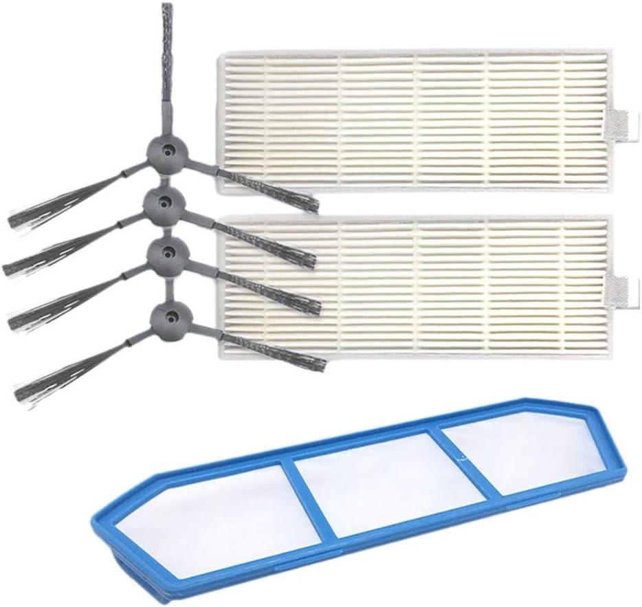 SMILEQ Accesorios de Repuesto para la barredora de Robots Ilife A4 A4S A6 (Blanco): Amazon.es: Hogar