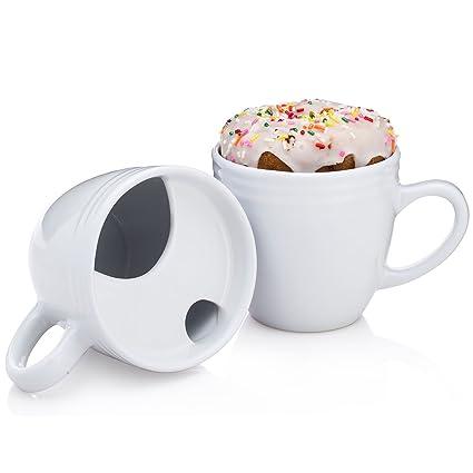 8f61ecb0640 Amazon.com | BEST MORNING EVER B01AC5EKDU 8-64696-00020-7, Set of 2 Mugs,  White: Coffee Cups & Mugs