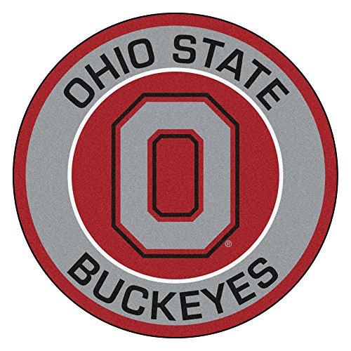 FANMATS 18629 Ohio State University Roundel Mat ()