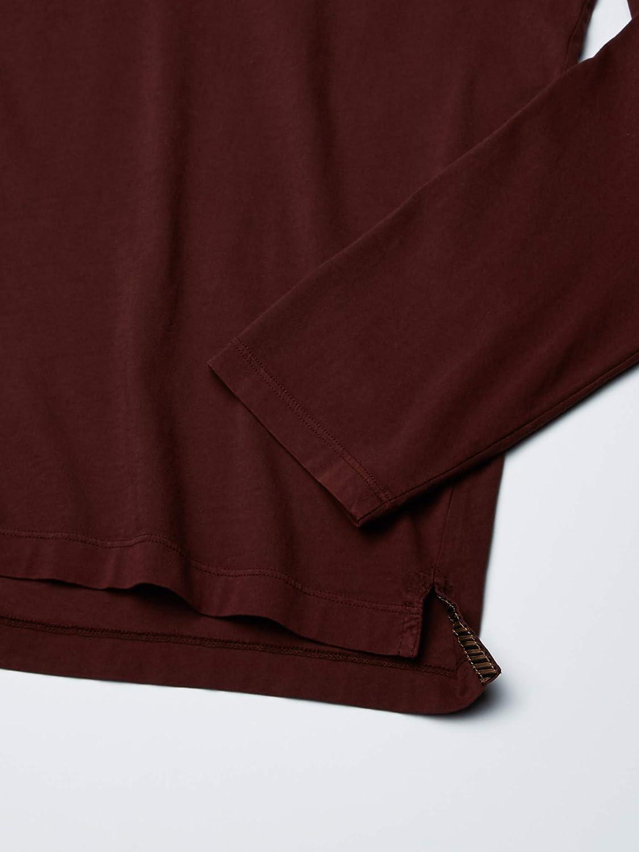 Billy Reid Mens Long Sleeve Pensacola Polo Shirt with Pocket