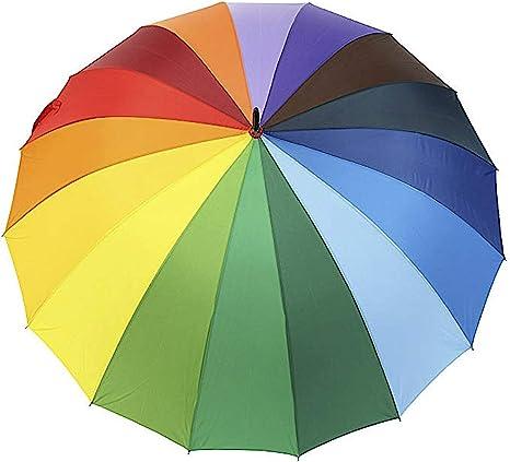 XL parapluie 24/segment Champs parapluie Parapluie arc-en-ciel