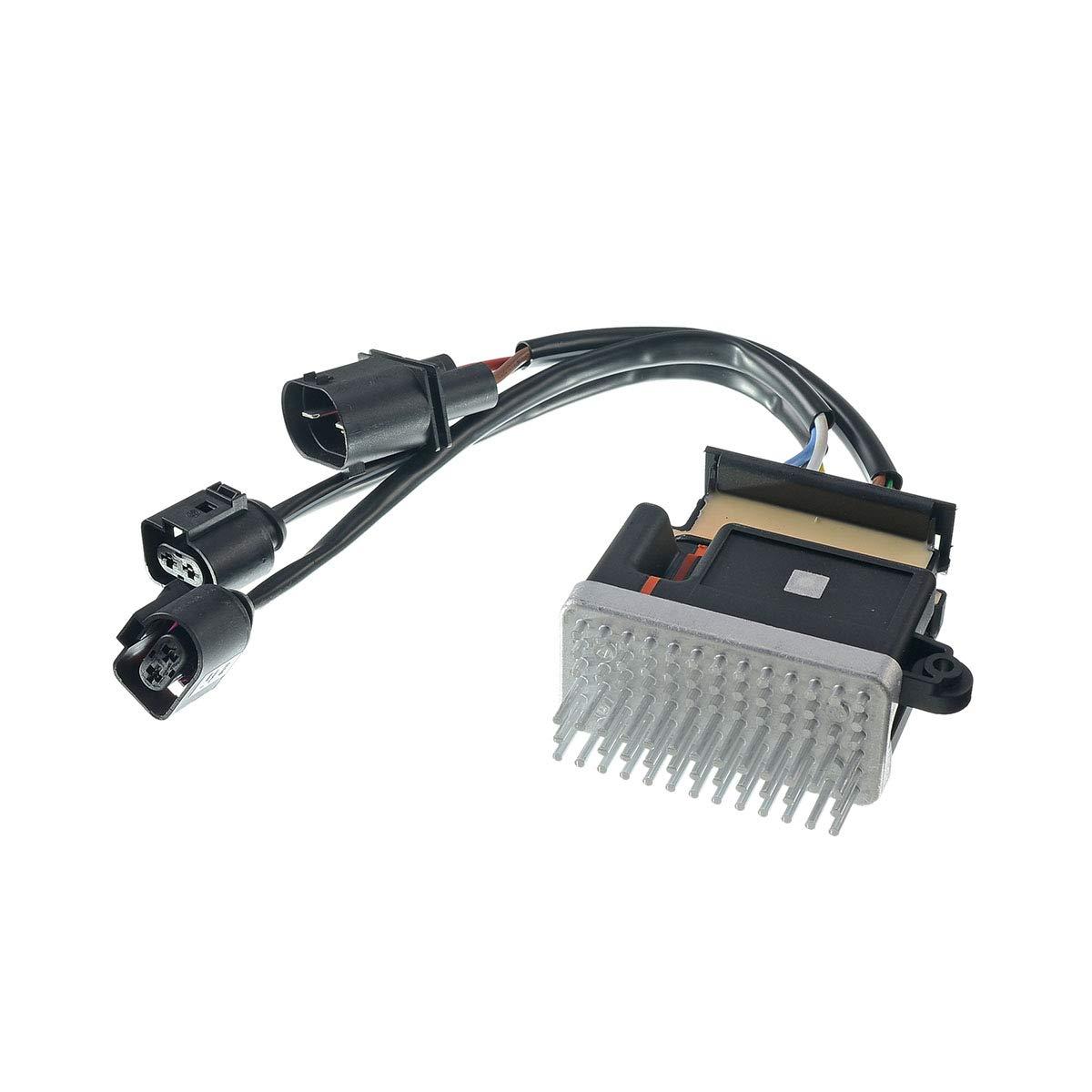 A-Premium Engine Cooling Fan Control Module for Audi A4 A5 A6 A7 Quattro Q3 Q5