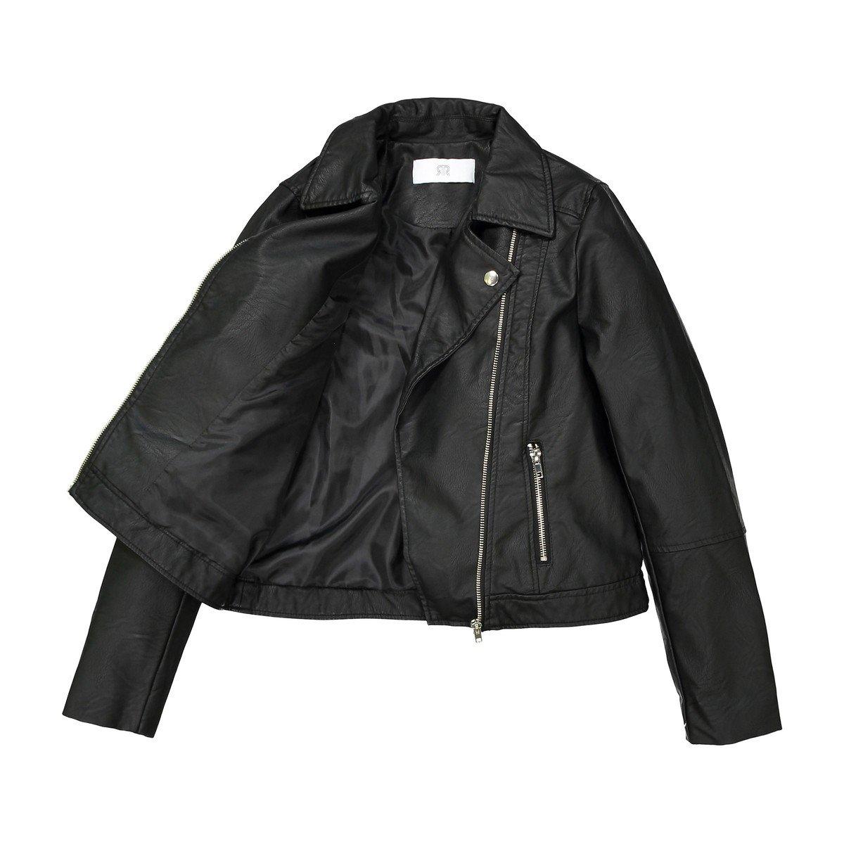 10-16 Years La Redoute Collections Big Girls Biker Jacket